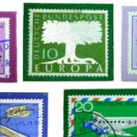 Kühlschrankmagnete mit Briefmarken