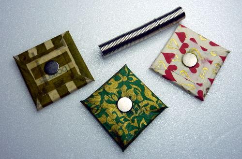 Magnetische Collage Elemente mit Magnet auf der Rückseite