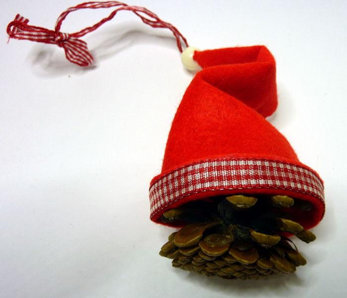 Borte der Mütze beklebt mit Schleifenband