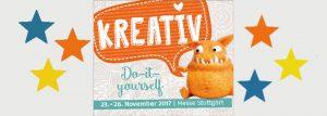 Kreativ 2017 Stuttgart - 23. - 26. November 2017 - Messe Stuttgart