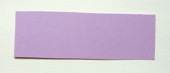 Tonzeichenpapier zugeschnitten ca. 9,5 x 3 cm