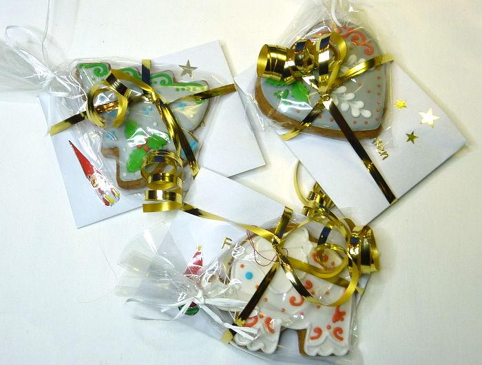 Briefumschlag mit Lebkuchen