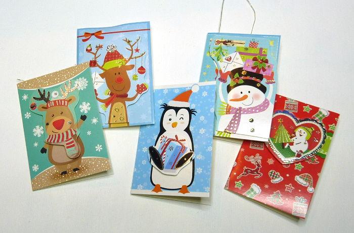 Kleine Weihnachtskarten