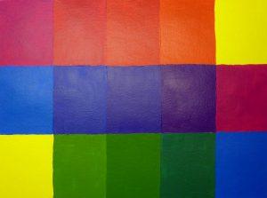 Farbmischübung mit Primärfarben