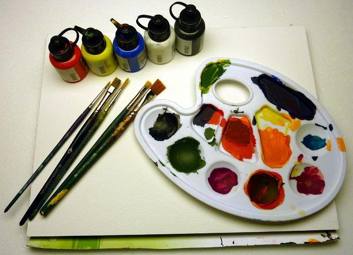 Acrylmalerei Grundausstattung