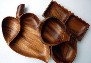 Holzschalen vom Trödelmarkt