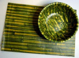 Decopatch Papier im Bambu Look