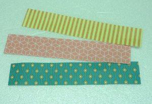 Papierstreifen aus Motivpapier 80 g/m², 2 x 10 cm