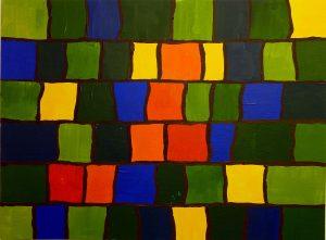 Kalt-Warm-Kontrast mit Gelb- und Orange- sowie Blau- und Grüntönen