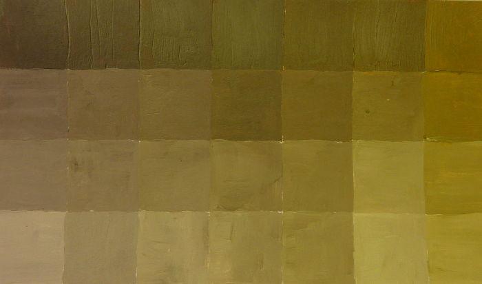 Braun Mischübung aus Cyan, Magenta und Gelb