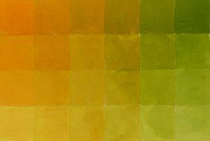 Braun Mischübung: Farbton Oker