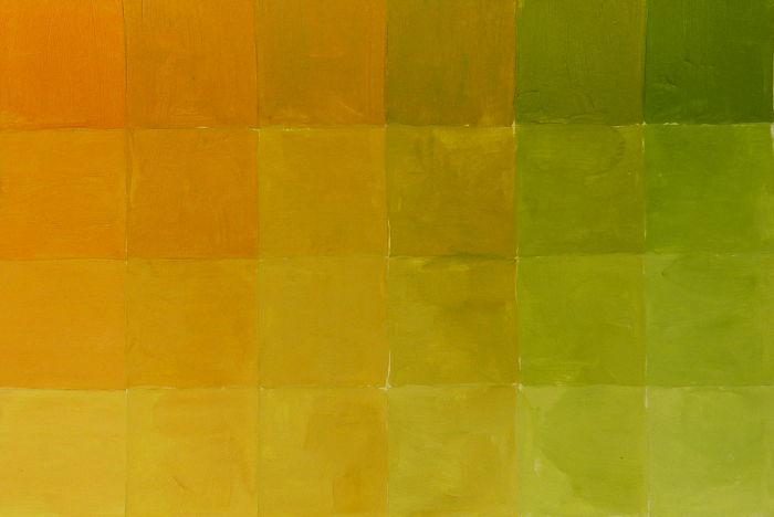 Braun Mischübung: Farbton Ocker