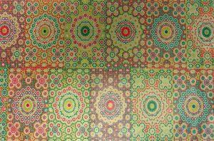 Decopatch Papier mit Ornamente-Muster