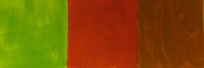 Braun gemischt aus Hellgrün und Rot