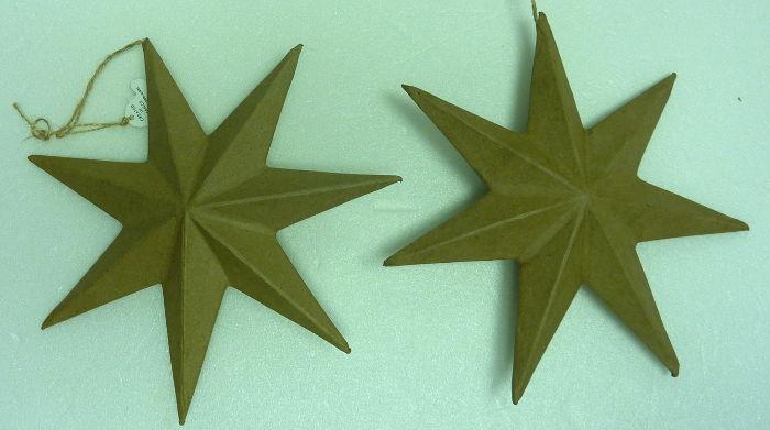 Pappmache Sterne 20 cm