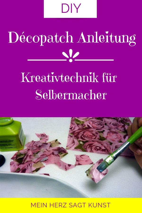 Décopatch Anleitung