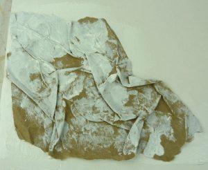 Struktur erzeugen mit Papier