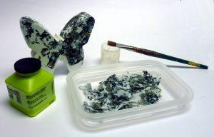Materialübersicht: Décopatch-Projekt - Schmetterlinge