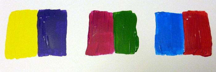 Beispiele für Komplementärfarben