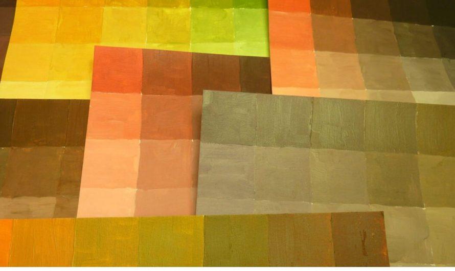 Braun mischen mit den Grundfarben