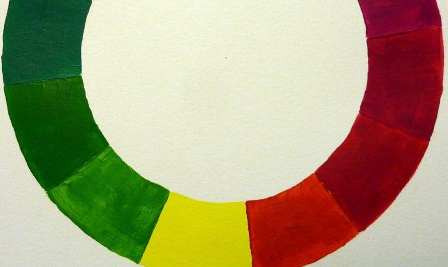 Anleitung: Farbkreis malen mit Acrylfarbe – Farbenlehre