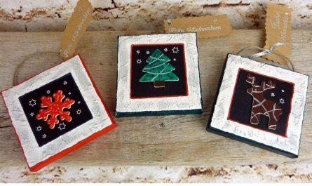Mini-Bilder für Weihnachten