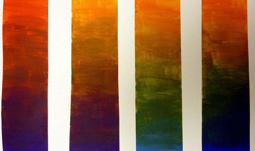Orange mischen mit Acrylfarben – Anleitung zum selbst mischen