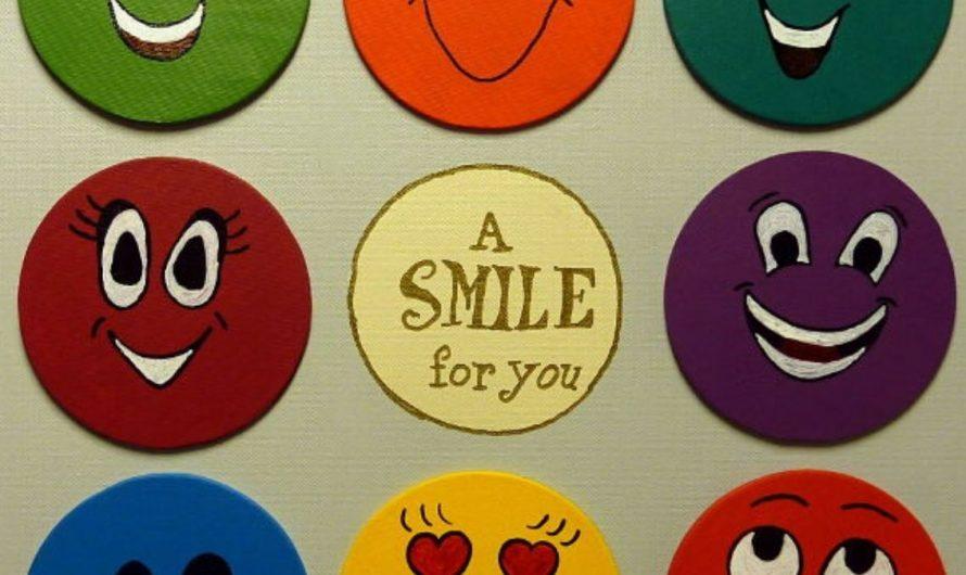 Anleitung: Smiley Magnetbild – A Smile for you!