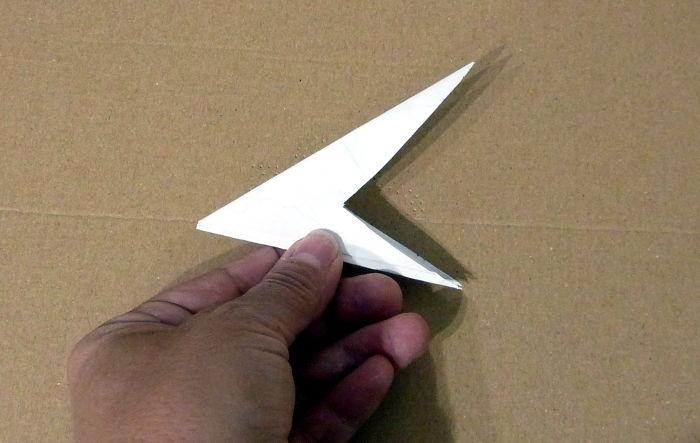 Stern Schablone herstellen aus Papier